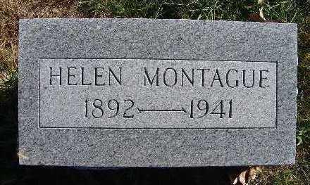 MONTAGUE, HELEN - Warren County, Iowa | HELEN MONTAGUE