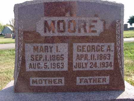 MOORE, GEORGE A. - Warren County, Iowa | GEORGE A. MOORE