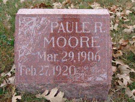 MOORE, PAULE R. - Warren County, Iowa | PAULE R. MOORE