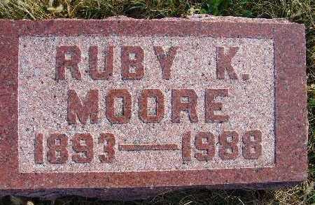 MOORE, RUBY K. - Warren County, Iowa | RUBY K. MOORE
