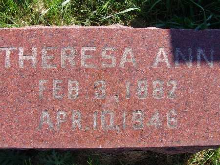 MOORHOUSE, THERESA ANN - Warren County, Iowa | THERESA ANN MOORHOUSE