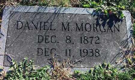 MORGAN, DANIEL M. - Warren County, Iowa   DANIEL M. MORGAN
