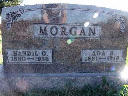 FRIDLEY MORGAN, ADA B. - Warren County, Iowa | ADA B. FRIDLEY MORGAN