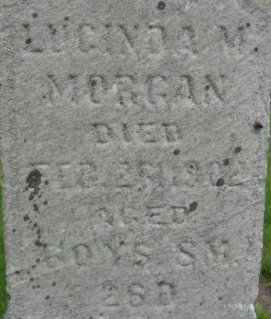 MORGAN, LUCINDA M. - Warren County, Iowa | LUCINDA M. MORGAN
