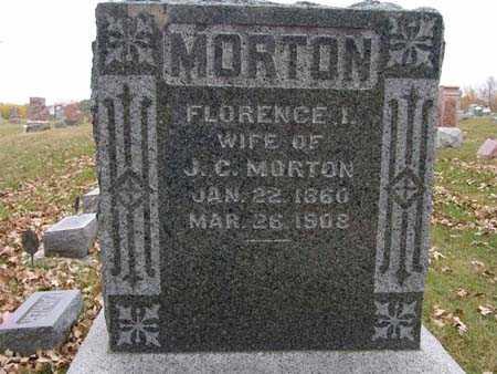 MORTON, FLORENCE I - Warren County, Iowa | FLORENCE I MORTON