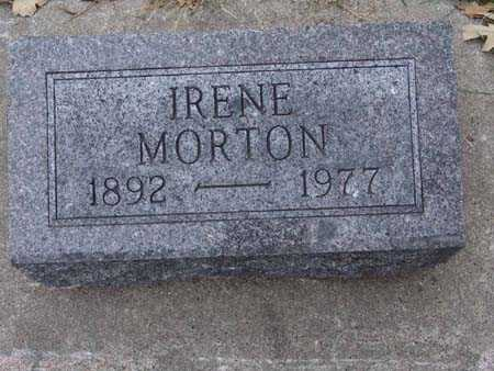 MORTON, IRENE - Warren County, Iowa | IRENE MORTON