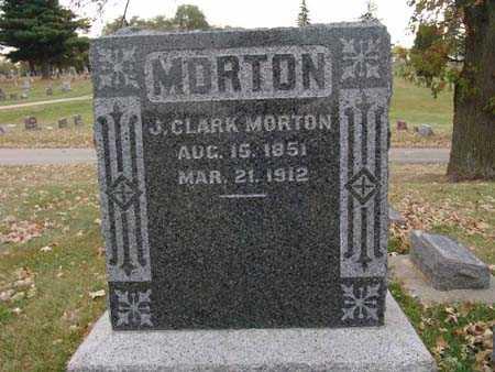 MORTON, J. CLARK - Warren County, Iowa   J. CLARK MORTON