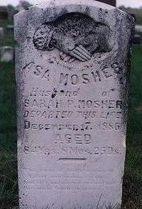 MOSHER, ASA - Warren County, Iowa | ASA MOSHER