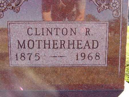 MOTHERHEAD, CLINTON R. - Warren County, Iowa | CLINTON R. MOTHERHEAD