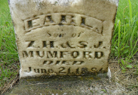 MUMFORD, EARL - Warren County, Iowa   EARL MUMFORD