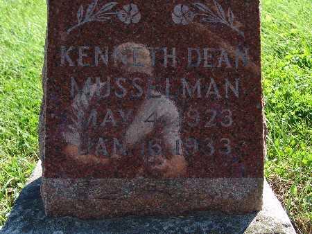 MUSSELMAN, KENNETH DEAN - Warren County, Iowa | KENNETH DEAN MUSSELMAN