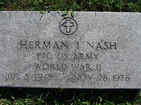 NASH, HERMAN I - Warren County, Iowa | HERMAN I NASH