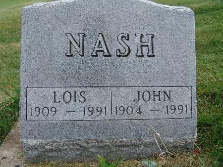 NASH, LOIS - Warren County, Iowa | LOIS NASH