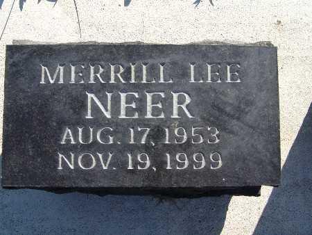 NEER, MERRILL LEE - Warren County, Iowa | MERRILL LEE NEER