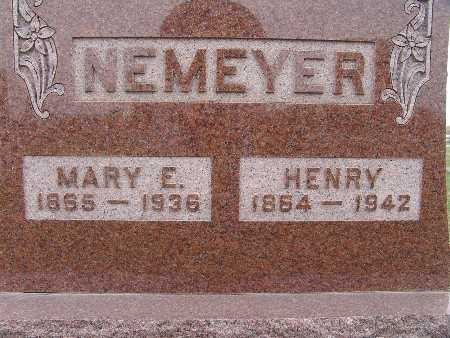 NEMEYER, MARY E. - Warren County, Iowa | MARY E. NEMEYER