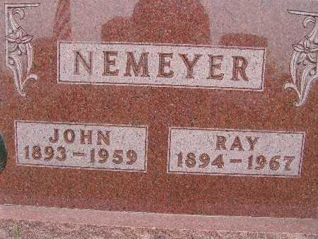 NEMEYER, RAY - Warren County, Iowa | RAY NEMEYER