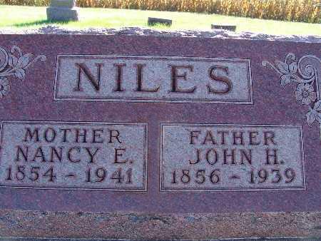 NILES, JOHN H. - Warren County, Iowa | JOHN H. NILES