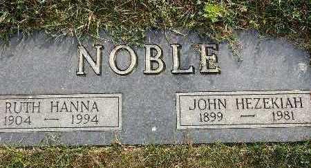 NOBLE, RUTH HANNA - Warren County, Iowa | RUTH HANNA NOBLE