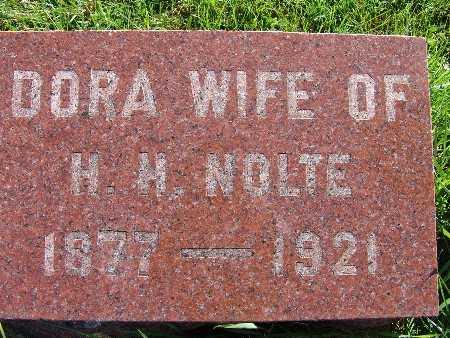 NOLTE, DORA - Warren County, Iowa | DORA NOLTE