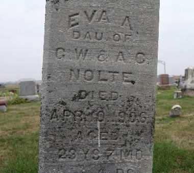 NOLTE, EVA A. - Warren County, Iowa | EVA A. NOLTE