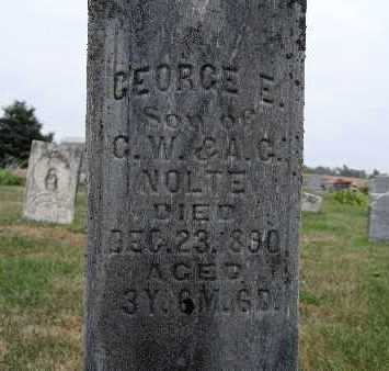 NOLTE, GEORGE E. - Warren County, Iowa   GEORGE E. NOLTE