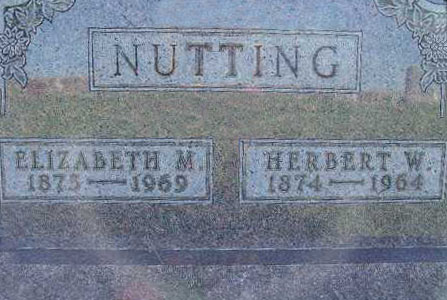 NUTTING, HERBERT W. - Warren County, Iowa   HERBERT W. NUTTING
