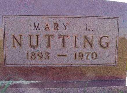 NUTTING, MARY L. - Warren County, Iowa | MARY L. NUTTING
