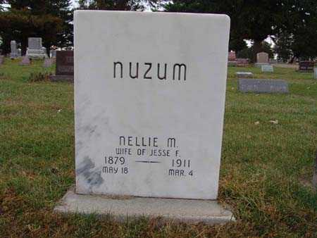 NUZUM, NELLIE M. - Warren County, Iowa | NELLIE M. NUZUM