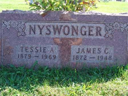 NYSWONGER, JAMES C - Warren County, Iowa | JAMES C NYSWONGER