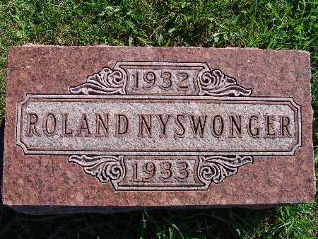 NYSWONGER, ROLAND - Warren County, Iowa | ROLAND NYSWONGER