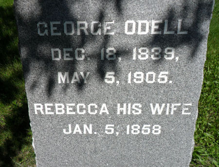 ODELL, GEORGE - Warren County, Iowa | GEORGE ODELL