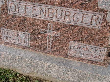 OFFENBURGER, FRANCES - Warren County, Iowa   FRANCES OFFENBURGER