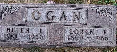 OGAN, HELEN I. - Warren County, Iowa | HELEN I. OGAN