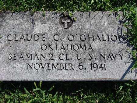 O'GHALIO, CLAUDE C - Warren County, Iowa | CLAUDE C O'GHALIO