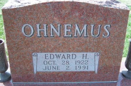 OHNEMUS, EDWARD H - Warren County, Iowa | EDWARD H OHNEMUS