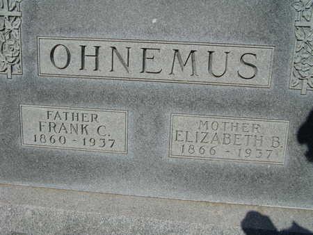 OHNEMUS, ELIZABETH B. - Warren County, Iowa | ELIZABETH B. OHNEMUS