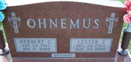 OHNEMUS, HERBERT C. - Warren County, Iowa | HERBERT C. OHNEMUS