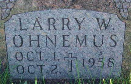 OHNEMUS, LARRY W - Warren County, Iowa | LARRY W OHNEMUS