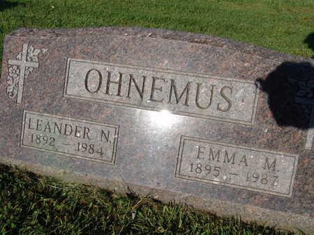 OHNEMUS, LEANDER N. - Warren County, Iowa | LEANDER N. OHNEMUS