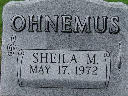 OHNEMUS, SHEILA M - Warren County, Iowa   SHEILA M OHNEMUS