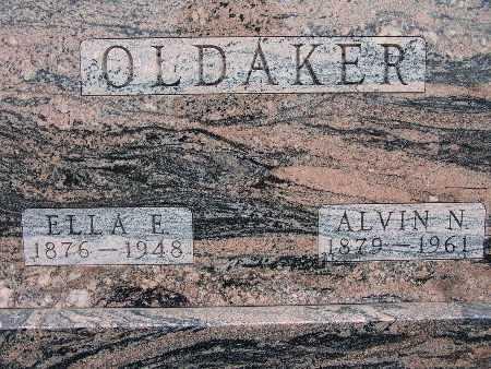 OLDAKER, ELLA E. - Warren County, Iowa | ELLA E. OLDAKER