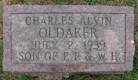 OLDAKER, CHARLES ALVIN - Warren County, Iowa | CHARLES ALVIN OLDAKER