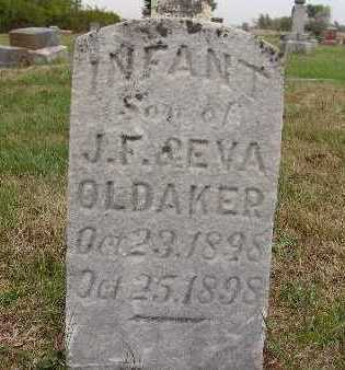 OLDAKER, INFANT SON - Warren County, Iowa | INFANT SON OLDAKER
