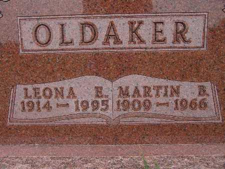 OLDAKER, LEONA E. - Warren County, Iowa | LEONA E. OLDAKER