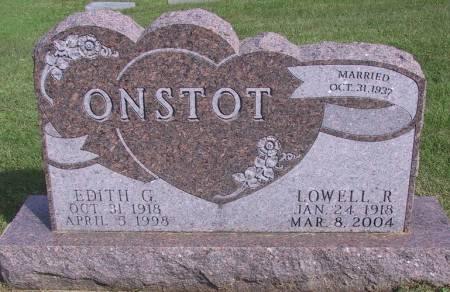 ONSTOT, EDITH G - Warren County, Iowa | EDITH G ONSTOT