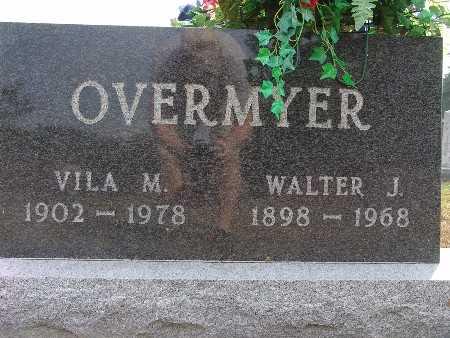 OVERMYER, WALTER J. - Warren County, Iowa   WALTER J. OVERMYER