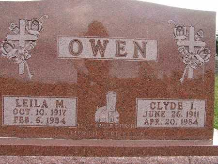 OWEN, LEILA M. - Warren County, Iowa | LEILA M. OWEN