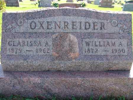 OXENREIDER, WILLIAM A - Warren County, Iowa | WILLIAM A OXENREIDER