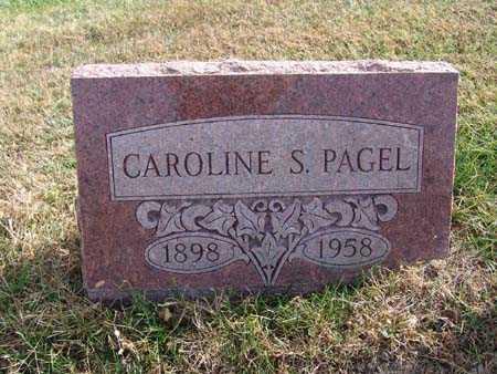 PAGEL, CAROLINE S. - Warren County, Iowa | CAROLINE S. PAGEL
