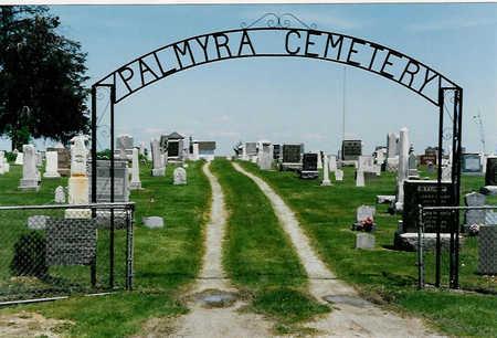 PALMYRA, CEMETERY - Warren County, Iowa   CEMETERY PALMYRA